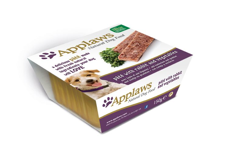 Applaws Dog Pate NE Rabbit 150g Hi Res