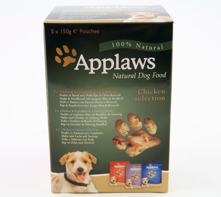 Applaws Dog Pouch Multipack 5 x 150g 9010