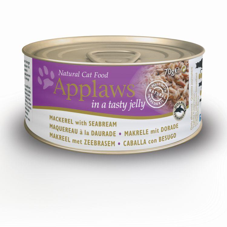 Puszka kot makrela&dorada w galaretce