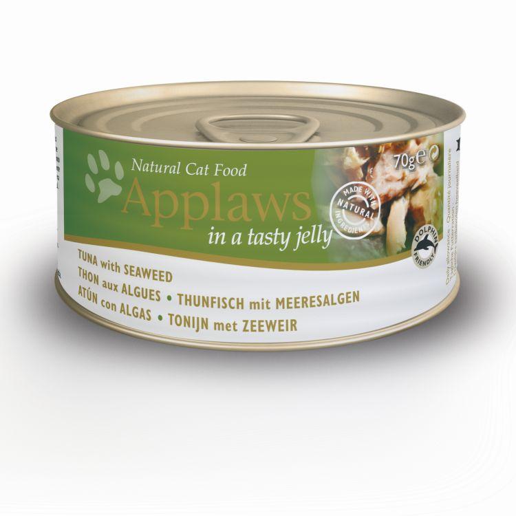 Puszka kot tun&wodorosty w galaretce